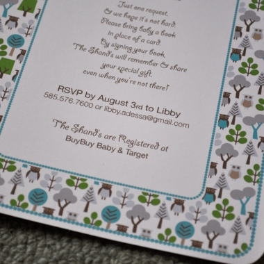 dwell studio owls invitations 2