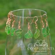 Green Sea Glass Jewelry