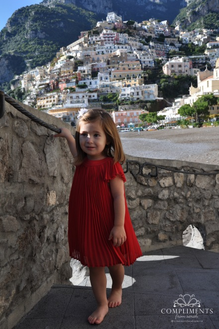 Maddie in Positano