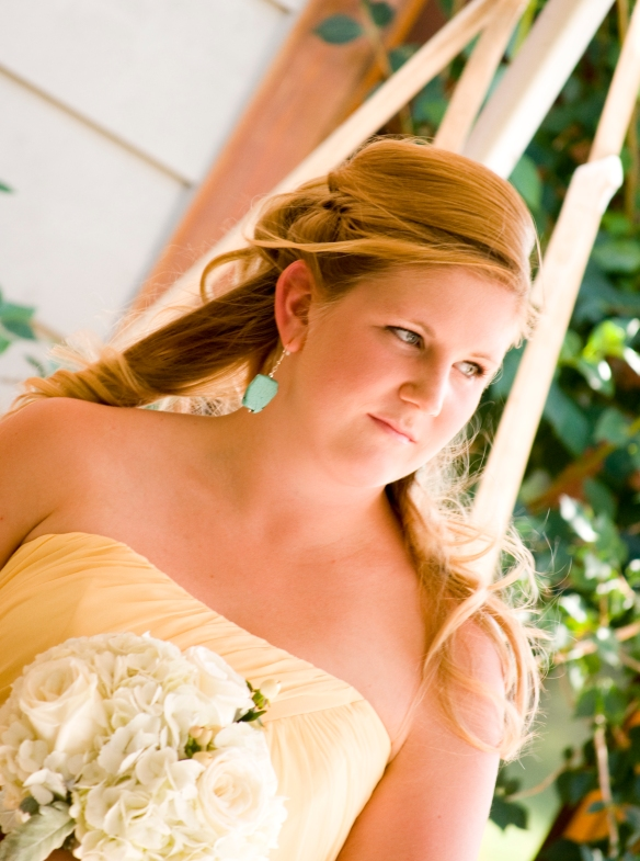 Turquoise Bridesmaid Earrings -Bridesmaid