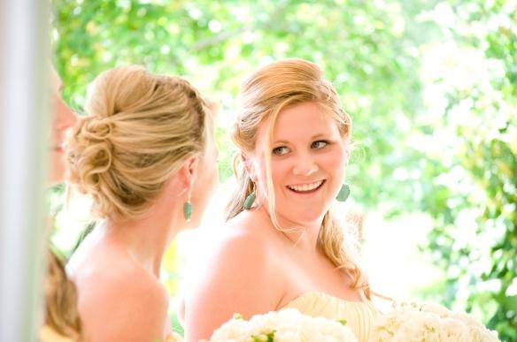 Turquoise Bridesmaid Earrings -Bridesmaids